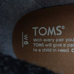 TOMS Shoes - Toms Women Woven Slip On Flats Shoes R12S8